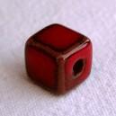 Cube 10x10 Rouge