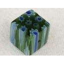 Cube 10x10 Vert/bleu