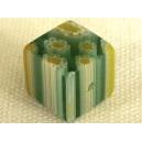 Cube 10x10 Vert/Jaune