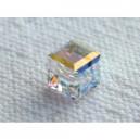 Cube 4mm Crystal AB