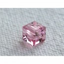 Cube 4mm Light rose