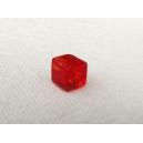 Cube 4x4 Rouge clair - Fil de 80 perles