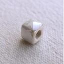 Cube 6x6 Blanc irisé