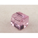 Cube 6x6 Rose - Fil de 48 perles
