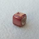 Cube 6x6 Rose Tyrien irisé