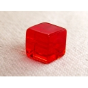 Cube 6x6 Rouge clair - Fil de 50 perles