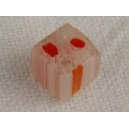 Cube 6x6 trou transversal Orange