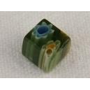 Cube 6x6 trou transversal Vert foncé