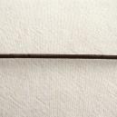 Lacet en cuir 1.5mm marron - 1 mètre