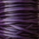 Cuir plat 5mm Violet - 1cm