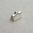 Embout 10mm argenté