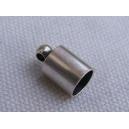 Embout 6x11 argenté pour cordon 5mm