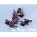 Embout pour lacet 4x2.5 cuivre lot de 10
