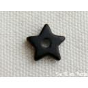 Etoile 10mm Noir