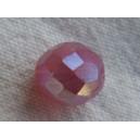 Facette 10mm Rose opale AB