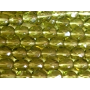 facette 4mm Vert Olivine Lot de 50