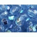 Facette 6mm Bleu Saphir Clair AB 6mm