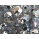 Facette 6mm Cristal Argent