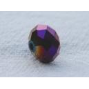 Facette 6x8 Violet irisé