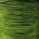 Fil macramé 0.8mm Vert olivine. 5 mètres