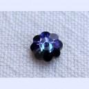 Fleur 6mm Crystal Heliotrope