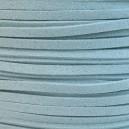 Lacet 3mm Bleu Ciel 1 mètre
