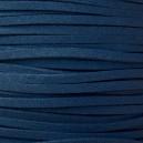 Lacet 3mm Bleu Foncé 1 mètre