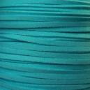 Lacet 3mm Bleu Tropique