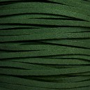 Lacet 3mm Vert Foncé 1 mètre