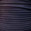 Lacet 3mm Violet Foncé 1 mètre