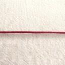 Lacet en cuir 1.5mm Rose framboise - 1 mètre