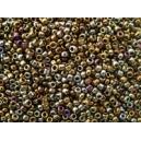 Mini rocaille 0.5mm Bronze irisé sachet de 10gr environ
