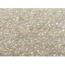 Mini rocaille 0.5mm Cristal Irisé sachet de 10gr environ