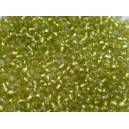 Mini rocaille 0.5mm vert anis brillant