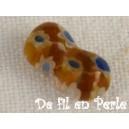Noeud papillon 11x6 Caramel