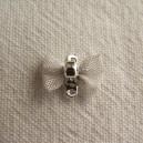 Noeud papillon 12x8 argent vif