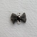 Noeud papillon 12x8 Gris