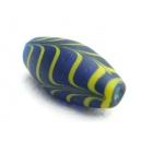 Olive 28x13 Bleu/jaune
