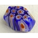 Olive taillée 15x11 Bleu Cobalt