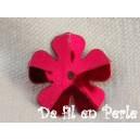 Paillettes fleurs 14mm Rouge sachet de 4.5 grammes