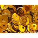 Paillettes rondes 6.5mm Doré