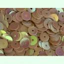 Paillettes rondes plates 6.5mm Beige Irisé