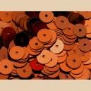 Paillettes rondes plates 6.5mm Rouille