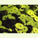 Paillettes rondes plates 6.5mm Vert Olivine