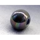 Perle 11mm Noir irisé