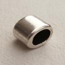 Perle 14x11 Argent lisse - 10x0.60€