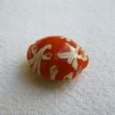 Perle 16mm Orange