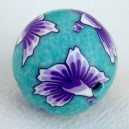 Perle 25mm Turquoise