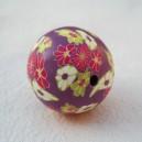 Perle 25mm Violet