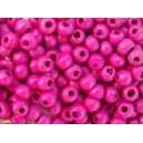 Perle 3mm Fuschia, lot de 170 environ